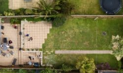 Yard from Above